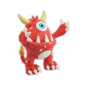 Monster rød