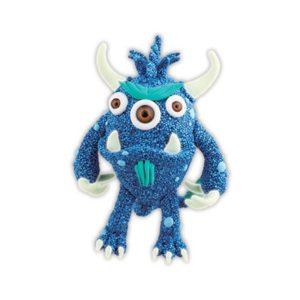 Monster blå