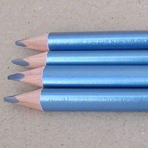 Metallic Blå