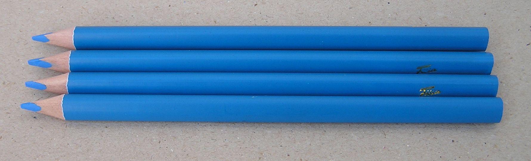 neon blå