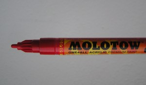 Molotow traffic red