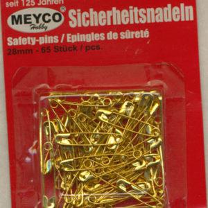 guld-sikkerhedsnaal-28mm-65stk